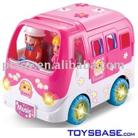 Battery Operated Cartoon Bus