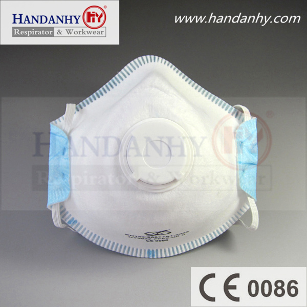 Disposable Filtering Respiratory Ffp2 Dust Mask