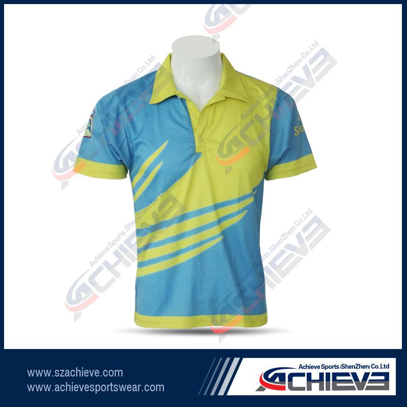 Sublimation New Design Sportswear Cricket Jerseys