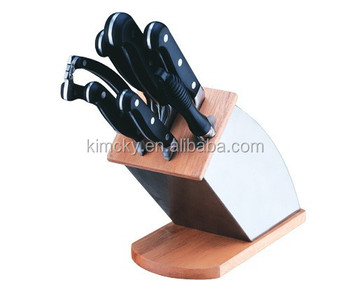 kitchen knife set with rest cold steel knife - buy slaughter knife