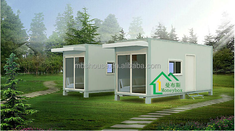 Easy Assemble Low Cost Modified Prefab Container House