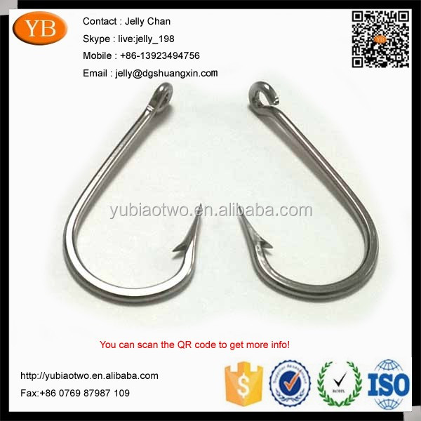 Custom SS Fish Fishing Hook