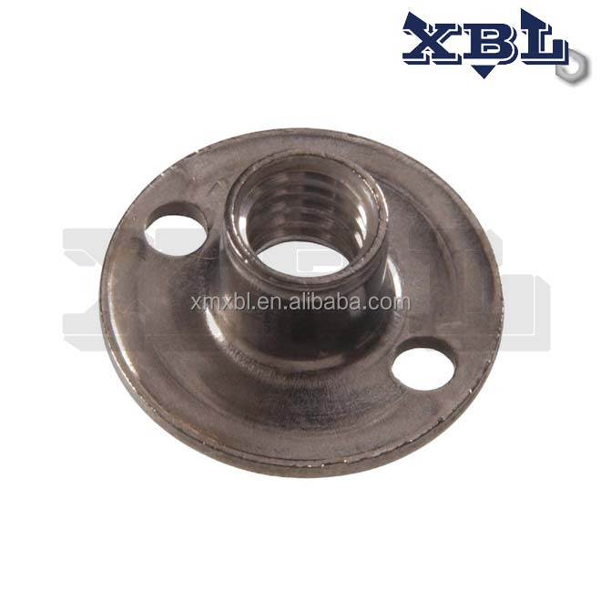 Stainless Steel Round Base Tee Nuts