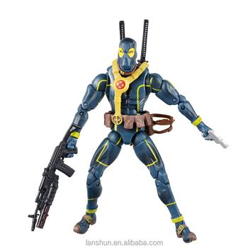 Marvel Legends Blue Deadpool X-men Action Figure 6