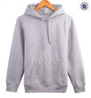 Wholesale custom mens pocket sweatshirt no hood