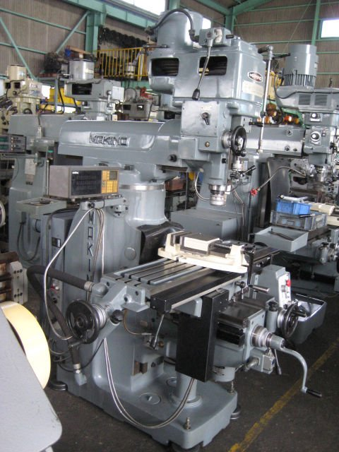 Vertical Milling Machine From Japan In Excellent Condition