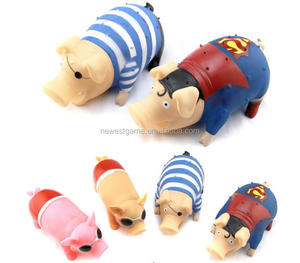 Electronic Pet Scream toy wholesale scream pig to take out the toys vent the whole prankster toy Novelty gift for children adult