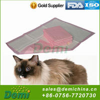 Soft breathable super absorbent disposable dog pet training pad
