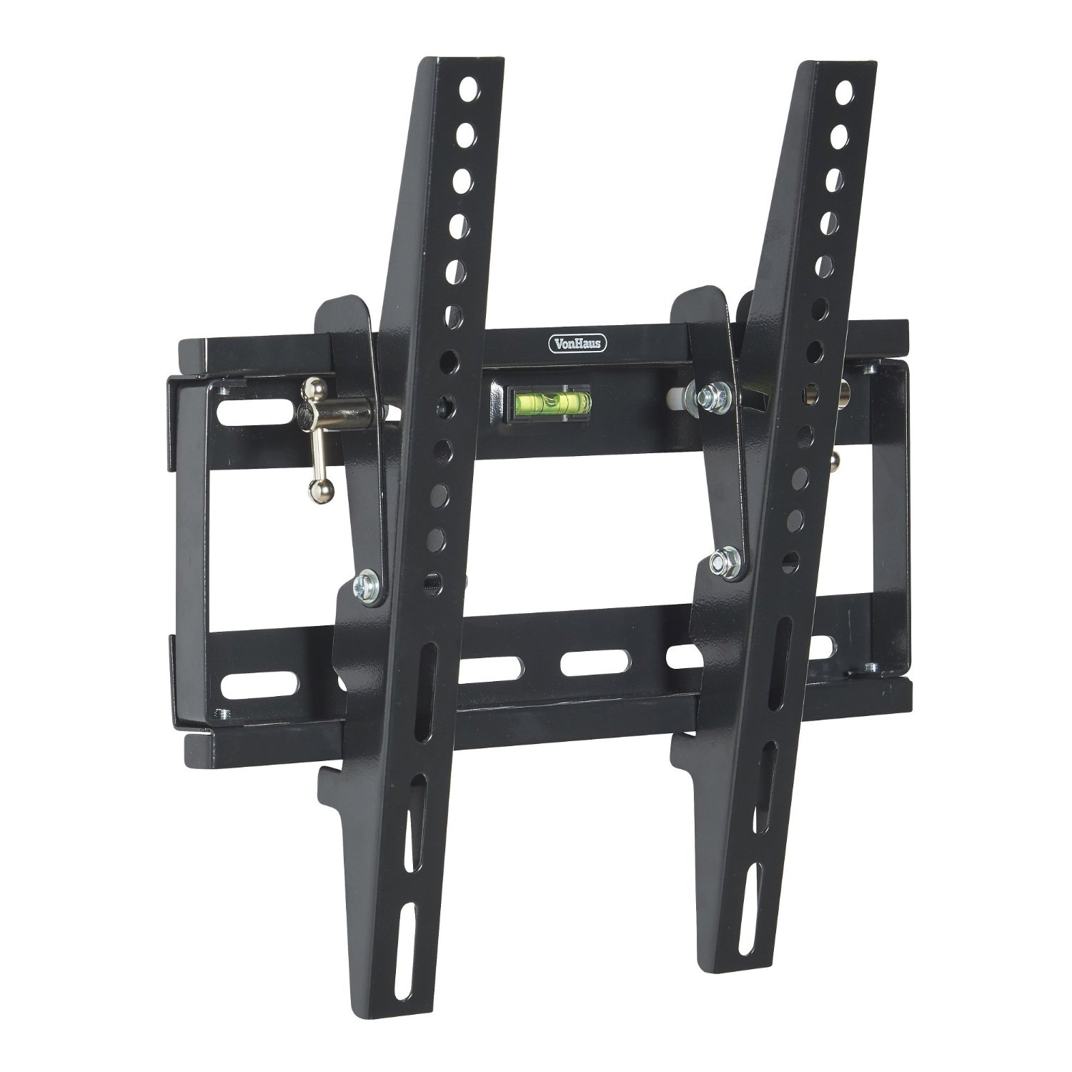 """VonHaus TV WALL MOUNT Fits All Models LCD, LED & Plasma TV - Samsung Sony Philips Toshiba - (17 - 37.5"""") - Super-Strength 165lbs load capacity with Tilt Mechanism"""