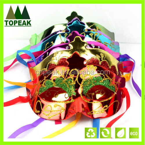 Carnival decoration mask masquerade party mask,Halloween Karneval party half face mask