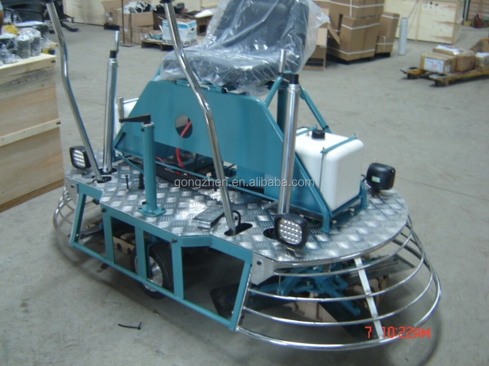 Wacker Concrete floor polishing machine,high efficiency ride-on power trowel with GX690 Honda engine