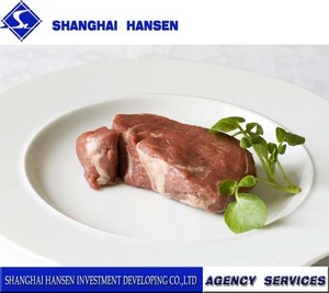 frozen pork hind feet import agency services for customs clearance