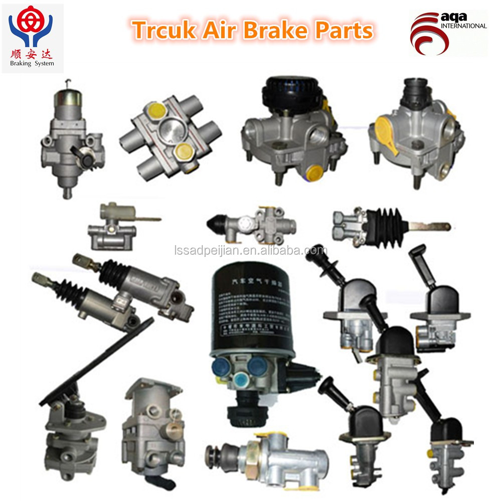 Trailer Air Brake Valve Or Hose For Volve,Man,Iveco Truck And Wabco  Valves/volvo,Iveco,Man - Buy Trailer Air Brake Valve,Trailer Air Brake