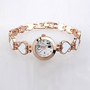 431667dec3269 Get Quotations · Buildent£¨TM)New Fashion women dress watches King girl  brand Casual Watch white