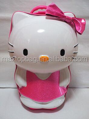 Hello Kitty Luggage Suitcase - 3d Hello Kitty Shape Girls Kids ...