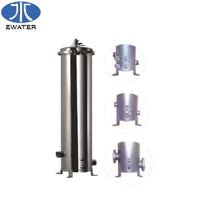 Factory direct stainless steel filter storage <strong>water</strong> <strong>tank</strong>/housing SS304 BN4W5L3