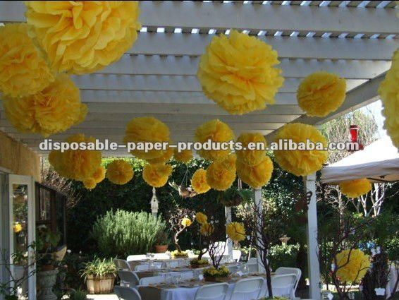 Baby Shower Decorations Hanging Poms Tissue Paper Flowers Bloom Balls Buy Paper Flower Pom Poms Paper Lanterns And Pom Poms Tissue Paper Balls