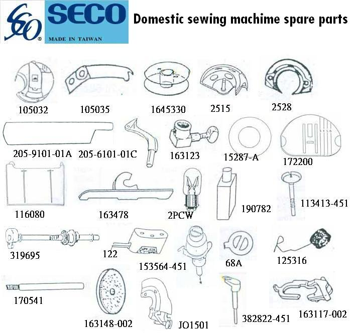 Sewing Machines Parts Supplier Sewing Machine Spare Parts