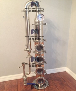 50L 100L 200L Home copper gin still distillery/distillation equipment for sale