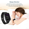 Waterproof Real Time Sports Sleep Monitor Pedometer Health Fitness Activity Tracker smart bracelet heart rate