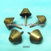 umbrella style bronze decorative nail for sofa lowest price 11.3x17mm