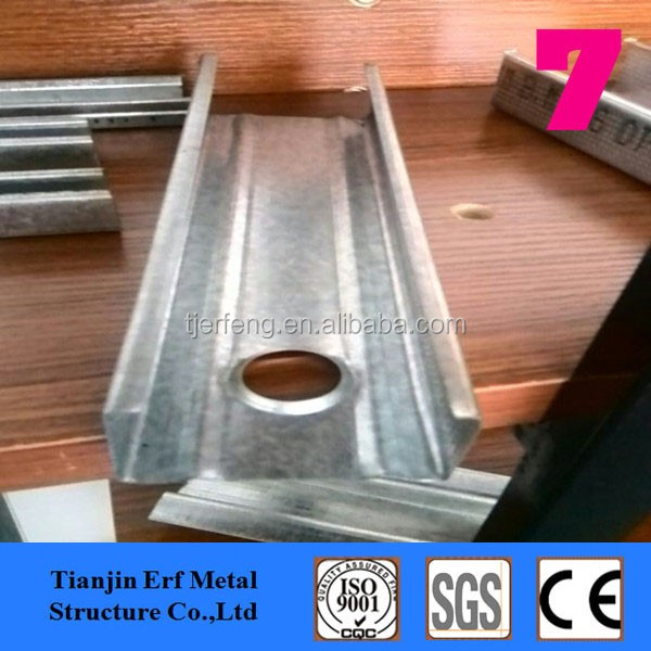 Cold formed channel steel galvanized purlin C Z U channel Mild steel channels