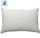 Wholesale 100% cotton fabric waved quilting filled polyester pillow cover bed rest hotel pillow