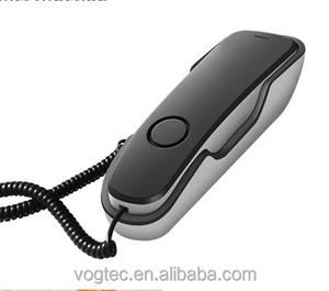 China Single line Phones Analog PSTN Corded Phone D-109PT
