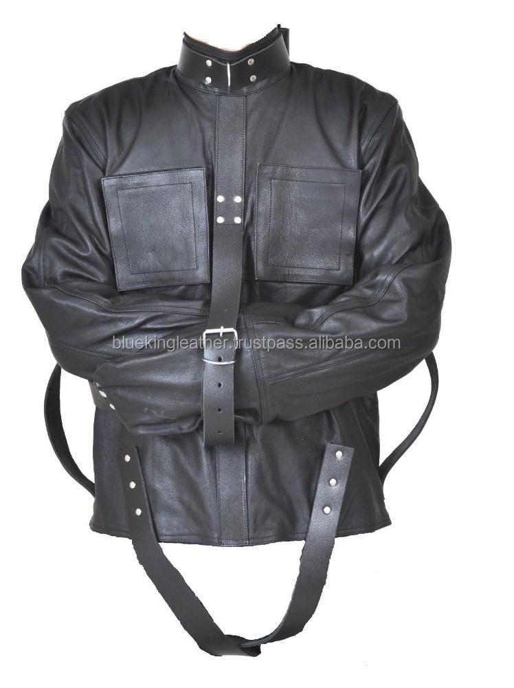 Real Leather Heavy Duty Straightjacket Straight Strait Jacket ...