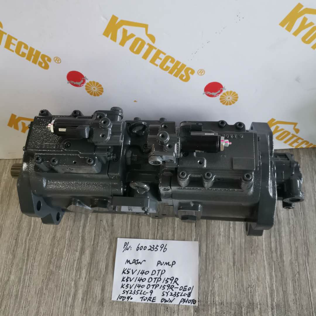 60023596 K5V140DTP K5V140DTP159R K5V140DTP159R-0E01 MAIN PUMP FOR SY235LC-9 SY235LC-8