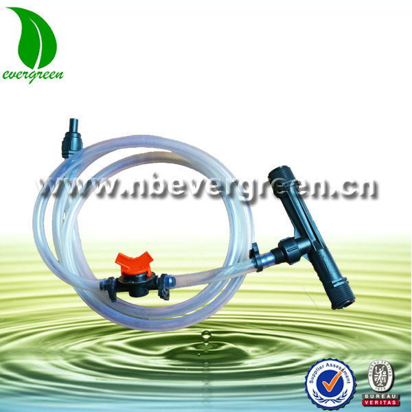 venturi suction systems for irrigation