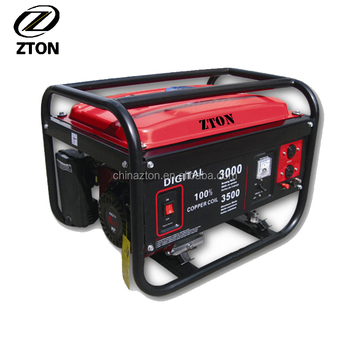 Hot Sale 6.0kW Super Quiet Generator With 192F Engine, ZTON ZT8000F Small  Home Use