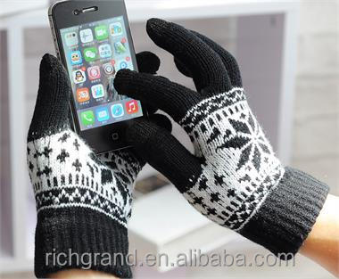 Christmas Xmas Winter Touch Screen Gloves Mobile Warm iPhone Winter Magic Gloves