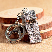 Nice Little Rhinestone Whistle Key Chain Shining ราคาถูก Keyring