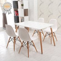 Free sample wholesale luxury french italian modern plastic replica emes eiffel dining chair/chair dining