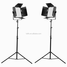 Wholesale High Power Ra95 Dimmerable Led Video TV Studio Light kit with Wireless Remote and DMX 512 Ctonrol