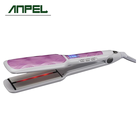 Private Label Hair Tools Ceramic coating plate LCD display Electric Flat Iron Hair Straightener with infrared function