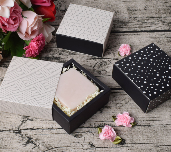 China Supplier Custom Logo Slide Open Drawer Box Foldable Paper Packaging Fancy Drawer Gift Box for Handmade Soap Jewelry