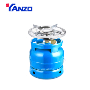 portable gas stove with cylinder outdoor camping