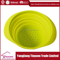 Hot New Products For 2015 Super Quality Silicone Collapsible Bowls