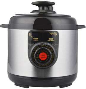 safety value / mini electric stainless steel rice cooker / Micro-computer multi cooker