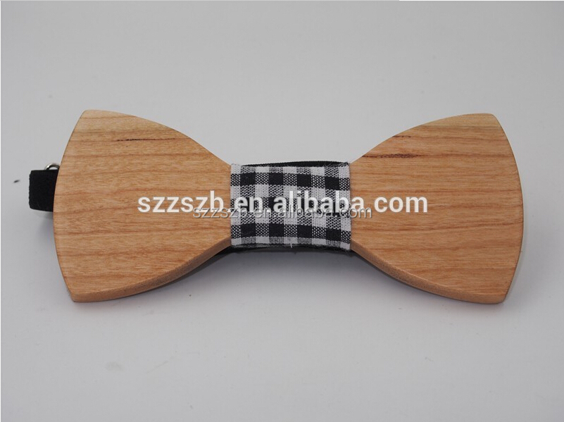 Natural High Quality Wood Bow Tie For Men,Luxury Bow Ties With Good Quality And Cheap Price