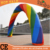 2015 cheap inflatable rainbow arch/ balloon arch for advertising for sale