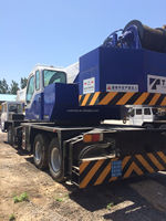 Used Tadano Truck Crane 55ton Gt550e,Used Truck Mobile Crane 55ton ...