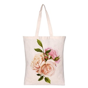 New design average size canvas tote bag cotton bag for jewelry ladies canvas tote bag