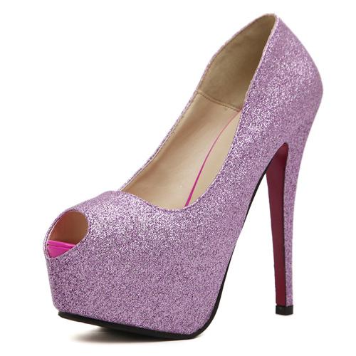 2c8dd45a492a0e Get Quotations · High Heels Sexy High Heels Autumn Peep Toe Platform Party Wedding  Stiletto Ultra High Heels Ladies
