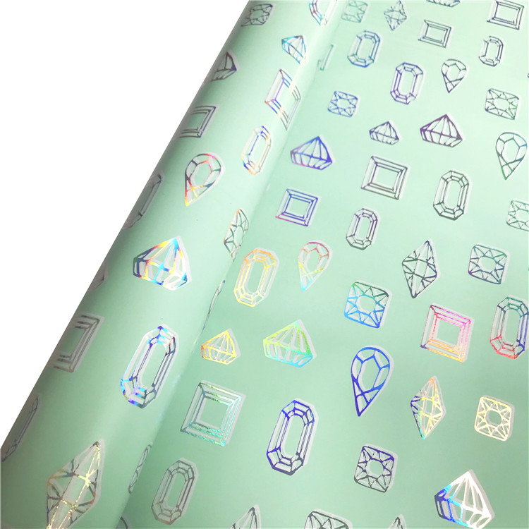 Custom designed gift wrapping paper roll various cosmetic gift wrapping paper