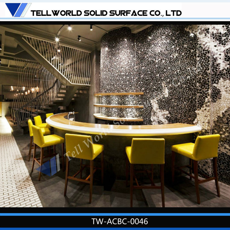 2014 TW 150 Colors Modern Home Bar,coffee Bar Counter Design,factory Price!