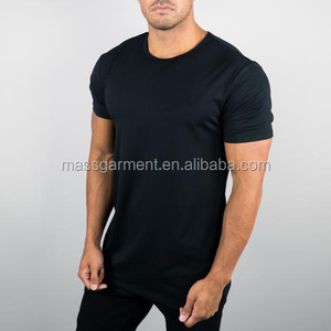 Hot Sale Custom Scoop Neck Dri-fit Polyester Spandex men t shirt, Simple Singlets