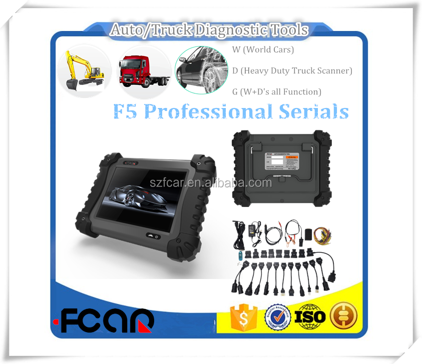 F5-D Professional Heavy Duty Diagnostic Tool for lexia 3 citroen peugeot diagnostic tool